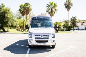 Autocares Blanco | Flota 16 Plazas